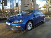 USED 2013 13 VOLKSWAGEN SCIROCCO 2.0 GT TDI BLUEMOTION TECHNOLOGY DSG 2d AUTO 140 BHP *FINANCE ARRANGED*PART EXCHANGE WELCOME*VW SERVICE HISTORY*PADDLE SHIFT**
