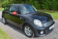 2013 MINI HATCH ONE 1.6 ONE 3d AUTO 98 BHP £8795.00