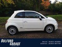 2009 FIAT 500 1.2 LOUNGE 3d 69 BHP £4675.00