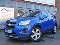 USED 2013 63 CHEVROLET TRAX 1.7 LT VCDI 5d 128 BHP FULL SERVICE HISTORY GREAT SPEC