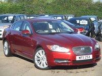 2011 JAGUAR XF 3.0 V6 PREMIUM LUXURY 4d AUTO 240 BHP £16995.00