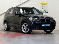 2012 BMW X3 2.0 XDRIVE20D M SPORT 5d AUTO 181 BHP [HUGE SPEC] £20387.00