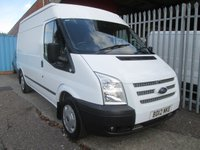 2012 FORD TRANSIT 280 MWB Medium roof TREND 100PS *ONE OWNER*S/HISTORY* £9495.00