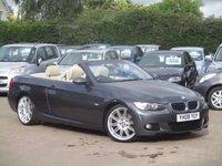 2008 BMW 3 SERIES 2.0 320D M SPORT 2d 174 BHP £9995.00