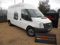 2010 FORD TRANSIT 2.4 350 LWB High Roof 4d 100 BHP MOBILE TYRE FITTING VAN £6990.00