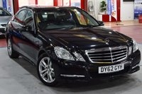 USED 2012 62 MERCEDES-BENZ E CLASS 2.1 E220 CDI BLUEEFFICIENCY S/S AVANTGARDE 4d AUTO 170 BHP