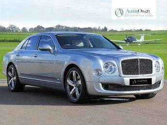 2012 BENTLEY MULSANNE 6.8 V8 4d AUTO 505 BHP £102990.00