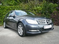 2012 MERCEDES-BENZ C CLASS 2.1 C200 CDI BLUEEFFICIENCY EXECUTIVE SE 4d AUTO 140 BHP £12850.00