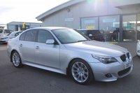 2007 BMW 5 SERIES 2.5 525D M SPORT 4d AUTO 175 BHP £7395.00
