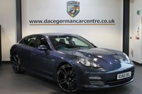 USED 2010 60 PORSCHE PANAMERA PANAMERA 3.6 V6 4WD 5DR + SERVICE HISTORY + SATELLITE NAVIGATION + FULL YACHTING BLUE LEATHER INTERIOR + HEATED SPORTS SEATS + CRUISE CONTROL + PARKING SENSORS + BOSE SPEAKER SYSTEM + BIXENON LIGHTS + 18 INCH ALLOY WHEELS WITH ADDITIONAL FULL SET OF WINTER TYRES INCLUDED