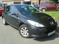 USED 2005 55 PEUGEOT 307 1.6 S HDI 5d 89 BHP GREAT VALUE P/X TO CLEAR