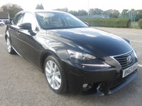 USED 2013 63 LEXUS IS 2.5 300H LUXURY 4d AUTO 220 BHP