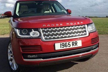 2016 NUMBER PLATE PLATE ON RETENTION / PLUS VAT £20000.00