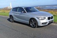 2013 BMW 1 SERIES 1.6 116I SPORT 3d 135 BHP £12495.00