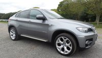 USED 2010 BMW X6 3.0 XDRIVE35D 4d AUTO 282 BHP TAILOR MADE FINANCE PACKAGES, X2 KEYS, FULL SERVICE HISTORY, 5 SEATER MODEL!!! PRO NAVIGATION, BLUETOOTH HANDSFREE, FULL BLACK ELECTRIC LEATHER WITH FRONT AND REAR HEATING, ELECTRIC TAILGATE, TOP VIEW CAMERA SYSTEM, REAR CAMERA , HDD USB AND AUX MEDIA OPTIONS,
