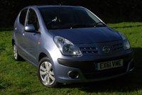 USED 2011 61 NISSAN PIXO 1.0 N-TEC 5 Door Hatchback [67 BHP] SUPER ECO 64+ Mpg * £20 pa TAX