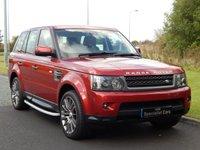 2011 LAND ROVER RANGE ROVER SPORT 3.0 TDV6 HSE 5d AUTO 245 BHP £SOLD