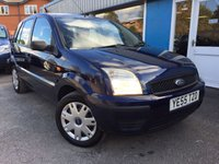 2005 FORD FUSION 1.4 FUSION 2 5d 78 BHP £1995.00