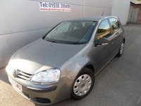 2009 VOLKSWAGEN GOLF 1.4 S TSI 121 BHP 5 DOOR, ONLY 58000 MILES WITH AIR CON £4995.00