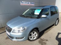2014 SKODA ROOMSTER 1.2 SE TSI 5d 84 BHP ONLY 9000 MILES, STILL UNDER WARRANTY £7995.00