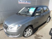 2012 SKODA FABIA 1.2 S 12V 5d 60 BHP ONLY 20000 MILES AIR CON S/HISTORY £5495.00