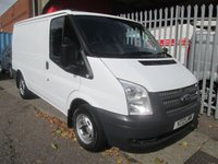 2012 FORD TRANSIT 280 SWB Low roof 100PS *SERVICE RECORDS*6 SPEED* £6995.00