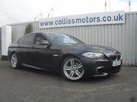 2012 BMW 5 SERIES 2.0 520D M SPORT 4d AUTO 181 BHP £16999.00