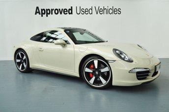 2013 PORSCHE 911 MK 991 3.8 50 ANNIVERSARY EDITION PDK 2d AUTO 400 BHP £116950.00