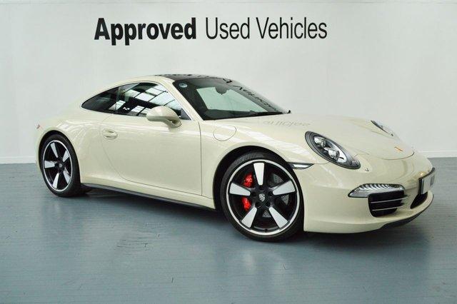 2013 63 PORSCHE 911 MK 991 3.8 50 ANNIVERSARY EDITION PDK 2d AUTO 400 BHP