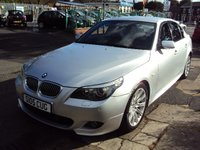 2007 BMW 5 SERIES 2.0 520D M SPORT 4d AUTO 161BHP WITH PRIVATE REG £5990.00