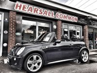 USED 2006 06 MINI CONVERTIBLE 1.6 COOPER S 2d 168 BHP WWW.HEARSALLCOMMONCARSALES.CO.UK ~ HPI CLEAR~ANY TRIAL