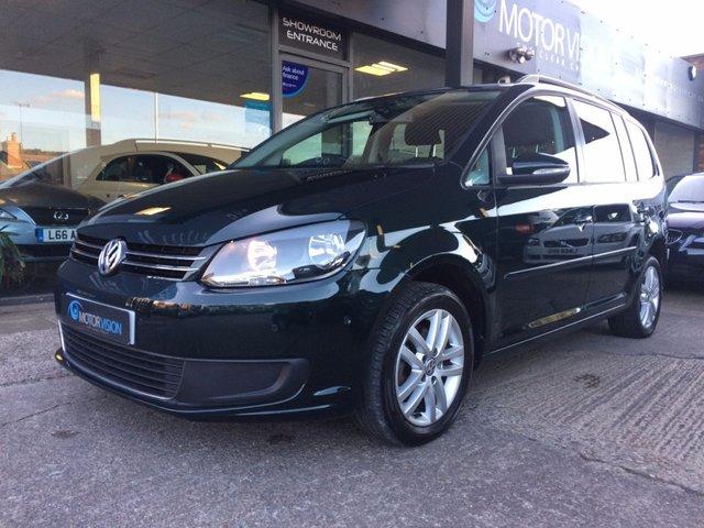 2011 11 VOLKSWAGEN TOURAN 1.6 SE TDI DSG 5d AUTO 106 BHP