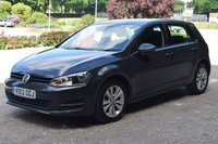 USED 2013 13 VOLKSWAGEN GOLF 1.6 SE TDI BLUEMOTION TECHNOLOGY 5d 103 BHP FULL SERVICE HISTORY