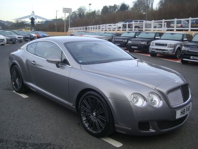 2008 57 BENTLEY CONTINENTAL 6.0 GT SPEED 2d AUTO 603 BHP