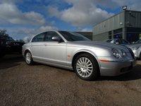 2004 JAGUAR S-TYPE 2.7 V6 SE 4d AUTO 206 BHP £2990.00