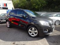 USED 2013 63 CHEVROLET TRAX 1.4 LT 5d 138 BHP NATIONALLY PRICE CHECKED DAILY