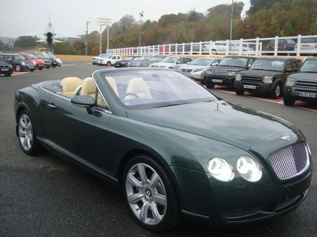 2006 56 BENTLEY CONTINENTAL 6.0 GTC 2d AUTO 550 BHP