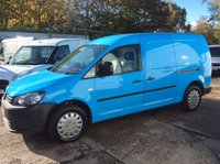 2011 VOLKSWAGEN CADDY MAXI 1.6 C20 TDI 101 BHP AIR CON RACKING ELEC PACK 1 OWNER FSH NEW MOT  £6650.00