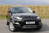 2011 LAND ROVER RANGE ROVER EVOQUE 2.2 SD4 PURE 5d AUTO 190 BHP £22945.00