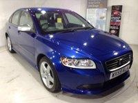 2009 VOLVO S40 2.0 D R-DESIGN 4d 136 BHP £6500.00