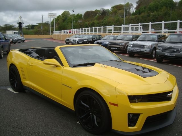 2013 13 CHEVROLET CAMARO ZL1 6.2 V8 SUPERCHARGED CONVERTIBLE 580bhp Auto