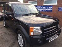 USED 2006 56 LAND ROVER DISCOVERY 2.7 3 TDV6 S 5d 188 BHP 10 STAMPS, 2 OWNERS, 2 REMOTE KEYS, 7 SEATS