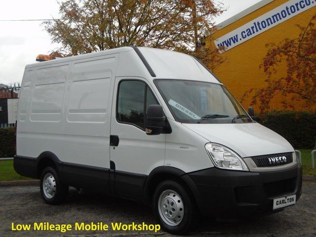 2011 61 IVECO-FORD DAILY 35S11V High Roof [ Mobile Workshop / Racking ] Low Mileage 3300wb Free UK Delivery RACKING / CABINETS