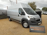 2016 PEUGEOT BOXER 2.0 BLUE HDI (EURO6) 435 L4 H3 DELIVERY MILES £15990.00