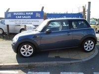 2009 MINI HATCH FIRST 1.4 FIRST 3d 75 BHP £4995.00