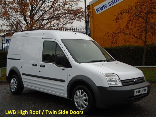 2008 58 FORD TRANSIT CONNECT T230 Lwb High Roof panel van Twin SLD Low Mileage MANAGERS SPECIAL