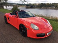 USED 2004 54 PORSCHE BOXSTER 2.7 24V 2d 240 BHP **FULL LEATHER**