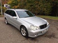 2007 MERCEDES-BENZ C CLASS 2.1 C200 CDI AVANTGARDE SE 5d 121 BHP AUTO £4350.00