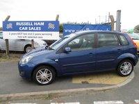 2008 FORD FIESTA 1.6 GHIA 16V 5d 100 BHP £2695.00