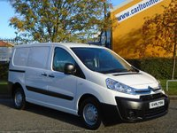 2013 CITROEN DISPATCH 1.6Hdi 1000 L1H1 Enterprise A/Con Low Mileage Fsh Free UK Delivery £7950.00